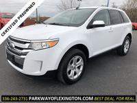 All Wheel Drive Ford Edge SEL. This is a very well