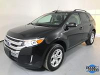 OUR 2014 FORD EDGE SEL IS A 1 OWNER VEHICLE WITH A