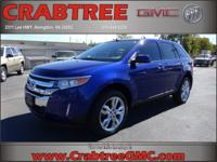 Options:  2014 Ford Edge Sel|Awd Sel 4Dr