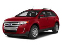 Recent Arrival! 2014 Ford Edge SEL Red AWD 3.5L V6