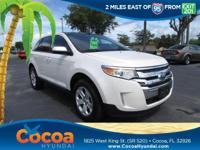 This 2014 Ford Edge SEL in White features: Clean Carfax