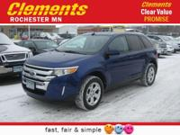 Options:  2014 Ford Edge Sel|All Wheel Drive|Power