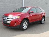 AWD. Red Hot! Yeah baby! This 2014 Edge is for Ford