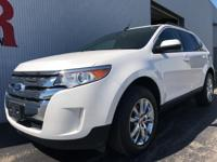 Options:  2014 Ford Edge Sel|White|Odometer Is 13840
