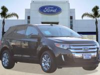 Options:  2014 Ford Edge Sel|Tuxedo Black