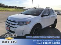 This used Ford Edge SEL is now for sale in San Antonio
