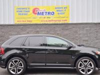 2014 Ford Edge Sport  in Tuxedo Black Metallic, Hands