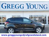 Black 2014 Ford Escape SE AWD 6-Speed Automatic