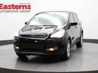 2014 4D Sport Utility Black 2014 Ford Escape SE AWD