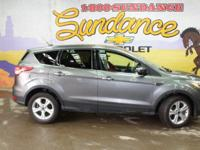 Sterling Gray Metallic 2014 Ford Escape SE AWD 6-Speed