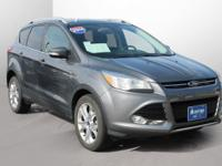New Price! 2014 Ford Escape Titanium Certified. WITH