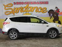 White 2014 Ford Escape Titanium AWD 6-Speed Automatic