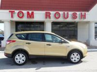 Karat Gold 2014 Ford Escape S FWD 6-Speed Automatic