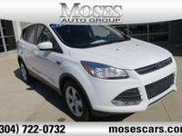 CARFAX One-Owner. Oxford White 2014 Ford Escape SE FWD