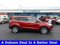 2014 Ruby Red Tinted Clearcoat Ford Escape Titanium