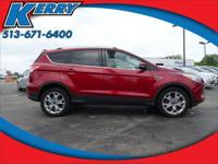 Clean CARFAX. Ruby Red Tinted Clearcoat 2014 Ford