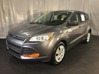 Gray 2014 Ford Escape S FWD 6-Speed Automatic Duratec