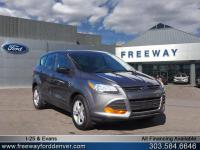 Sterling Gray Metallic 2014 Ford Escape S FWD 6-Speed
