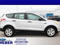 Recent Arrival! Ingot Silver 2014 Ford Escape *