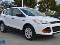 You're looking at a 2014 Ford Escape S in Car