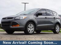 2014 Ford Escape S in Sterling Gray Metallic, This