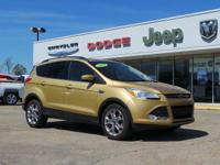 New Price! CARFAX One-Owner. GOLD 2014 Ford Escape SE