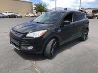 Clean CARFAX. Tuxedo Black 2014 Ford Escape SE 4D Sport