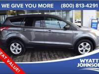 AWD. Outstanding fuel economy for an SUV! Don't let the