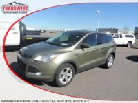 Options:  2014 Ford Escape Se|Green|Includes A Carfax