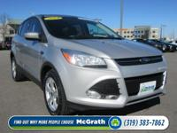 4 Wheel Drive. Drive this amazing Escape home today.
