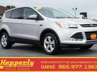 This 2014 Ford Escape SE in Ingot Silver Metallic