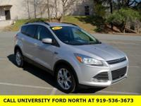 CARFAX One-Owner. 2014 Ford Escape SE Ingot Silver