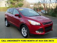 CARFAX One-Owner. 2014 Ford Escape SE Ruby Red Tinted