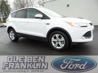 Options:  2014 Ford Escape Se|White/|V4 1.6 L
