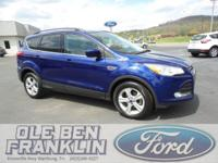 Options:  2014 Ford Escape Se|Blue/|V4 1.6 L