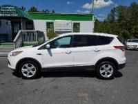 Options:  2014 Ford Escape Se 4Dr Suv|White|2-Stage