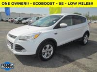 Exterior Color: oxford white, Body: SUV, Engine: I4