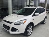 Great-looking 2014 Ford Escape Titanium in White
