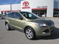 New Price! 2014 Ford Escape Titanium EcoBoost 2.0L I4