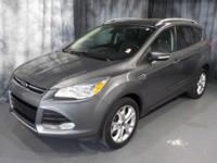 Sterling Gray Metallic 2014 Ford Escape Titanium AWD