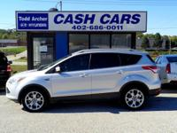 Ingot Silver Metallic 2014 Ford Escape AWD 6-Speed