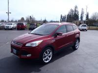 CARFAX One-Owner. 2014 Ford Escape Titanium Red One