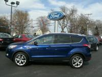 Exterior Color: deep impact blue, Body: SUV, Engine: