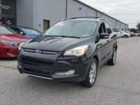 CARFAX One-Owner. Clean CARFAX. Black 2014 Ford Escape