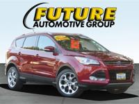 ***WOW! FLAWLESS FORD CERTIFIED ESCAPE TITANIUM LOWEST