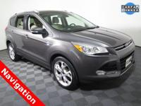 2014 Ford Escape Titanium with a 2.0L EcoBoost Engine.