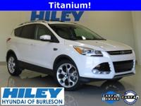 2014 Ford Escape Titanium EcoBoost 2.0L 4-Cylinder FWD.