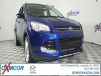2014 Ford Escape Titanium CARFAX One-Owner. Odometer is