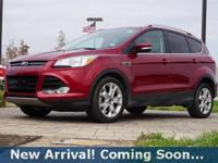 2014 Ford Escape Titanium in Ruby Red Tinted Clearcoat,