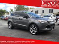 Options:  2014 Ford Escape Titanium|Gray/|V4 2.0 L